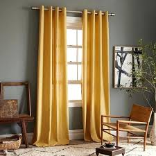 Yellow Brown Curtains Curtains For Light Brown Walls Bartarin Site