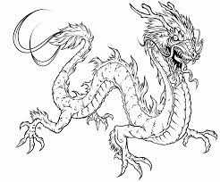 fire dragon coloring pages coloring home
