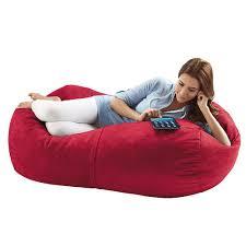 jaxx lounger giant bean bag chair brookstone