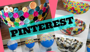 diy pinterest button bowl maddie ryles youtube