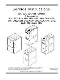 amana furnace service instructions rs6610004r4 com furnace hvac