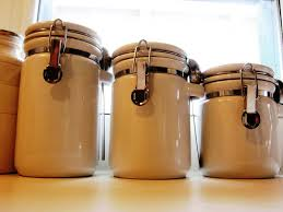 Western Kitchen Canisters by 100 Cute Kitchen Canisters Diy Painted Kitchen Canisters