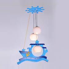 Ship Lighting Fixtures Modern Study Room Pendant Lighting Fixtures Kid S Bedroom Blue
