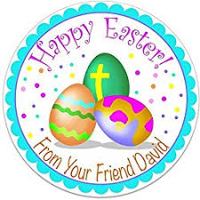 personalized easter eggs personalized easter decals let s personalize that