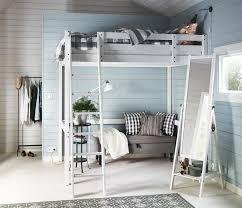 wohnideen minimalistische hochbett die besten 25 ikea hochbett stora ideen auf
