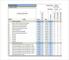 Construction Timeline Template Excel Construction Schedule Template 6 Free Sle Exle Format