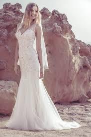wedding dress in uk embroidered tulle fluted dress ellis bridals