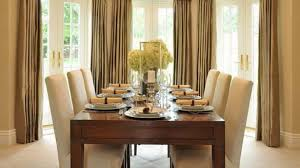 Drapes For Dining Room Dining Room Curtains Provisionsdining Inside Dining Room Drapes
