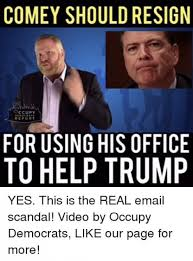 Anti Democrat Memes - hypocrites the top 10 comey memes dems wish they had never posted