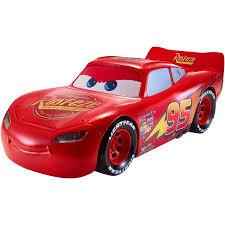 lighting mcqueen pedal car disney pixar cars 3 movie moves lightning mcqueen walmart