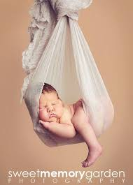 newborn photography props dusty gray cheesecloth sling hammock baby wrap by customphotoprops