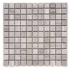 Marble Mosaic Floor Tile Shop Solistone Haisa Marble 10 Pack Haisa Light Uniform Squares