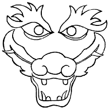 chinese dragon coloring pages easy dragon head coloring pages getcoloringpages com