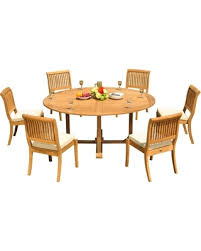 72 round outdoor dining table amazing deal on 7 piece outdoor dining set 72 round table 6 arbor