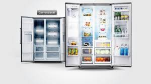 Home Appliances Shops In Bangalore Samsung Side By Side Refrigerator Rs554nrua1j Samsung India