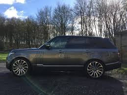 land rover gray used 2017 land rover range rover v8 autobiography for sale in west