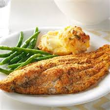 Catfish Dinner Ideas Cajun Baked Catfish Recipe Taste Of Home