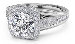 Halo Wedding Rings by The History Of Halo Engagement Rings
