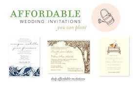 plantable wedding invitations classic wedding invitations on 100 recycled seeded paper by