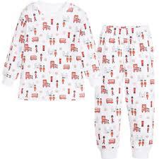 Pima Cotton Baby Clothes Kissy Kissy U0027london U0027s Finest U0027 Print Pima Cotton Pyjamas