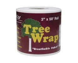 dewitt 3 inch by 50 foot tree wrap white tw3w