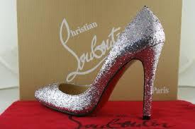 christian louboutin silver leather pigalle pumps pumps 254