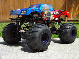 rc monster jam trucks home build solid axles monster truck using 1 8 transmission r