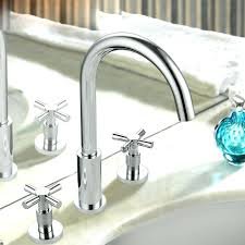 delta bathroom sink faucets brushed nickel moen faucet parts