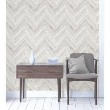 Faux Wood Wallpaper by Fine Decor Distinctive Parquet Wood Wallpaper White Fd40882