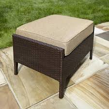 Wicker Outdoor Ottoman Coffee Table Outdoor Ottoman Pouf Pottery Barn Wicker Chair And