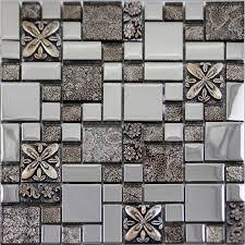glass tile backsplash ideas bathroom glass mosaic tiles melted backsplash tile bathroom