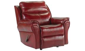 Southern Comfort Recliners Southern Motion Top Grain Leather Rocker Recliner Haynes