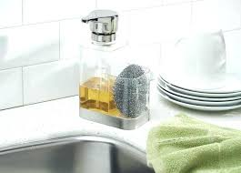 kitchen cabinet sponge holder kitchen sponge holder kitchen soap dispenser caddy and kitchen soap