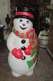 22 best blow molded snowmen images on pinterest blow molding