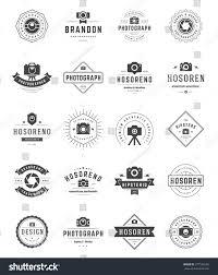 holden logo vector photographer logo templates set vector design stock vector