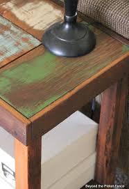 Wood Sofa Table Reclaimed Scrap Wood Sofa Table Hometalk