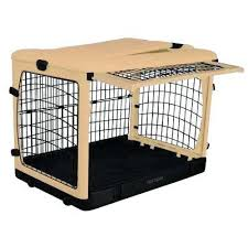Dog Crate Furniture Bench Dog Crate Training Barking Kennel Club Crates Pads Compressed