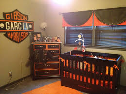 harley baby room what you can u0027t see is the tool bench we used for