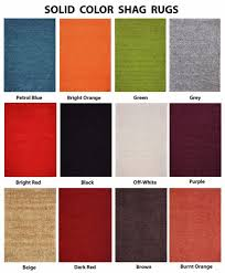 orange and grey area rug premium solid color shag area rug red orange grey brown green