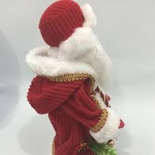 christmas doll santa claus music electric flashing dancing doll