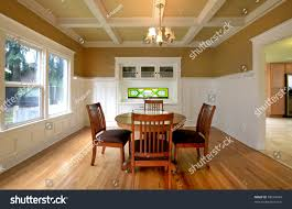 dining room molding dining room white molding stain glass stock photo 68534443