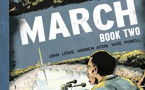 march book two lewis on march and revisiting the civil rights movement in