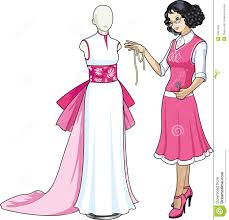 Asian Designs by Beautiful Asian Female Professional Costume Design Stock