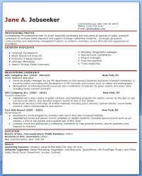 sample public relations resume pr resume objective resume object