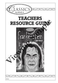 6741 frankenstein teachers resource guide by prim ed publishing