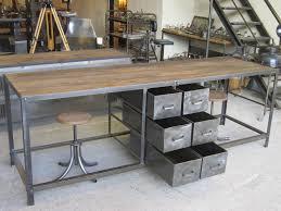 etabli cuisine superbe établi design table plan de travail geonancy design