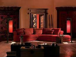Living Room With Red Sofa by Classic Indian Living Space With Red Sofa Unique Coffee Table Two