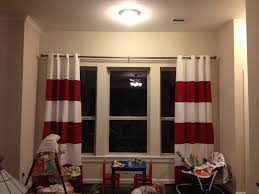 Nautical Striped Curtains Diy Sewing Striped Curtains Mccarty Adventures