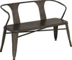 Industrial Bench Seat Dining Table Bench Seat With Back