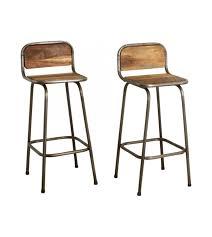 chaise de bar chaise de bar bois emejing tabouret metal vintage images